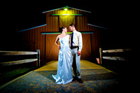 Barn weddings and western wedding photos by OKC Photography team Laske Images.